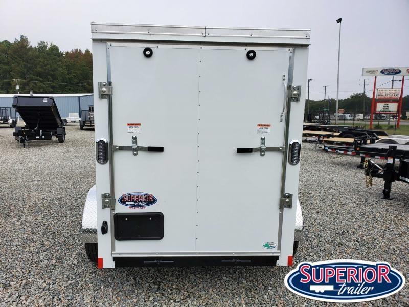 2021 Continental Cargo 5X8 w/ Side Door & Ramp