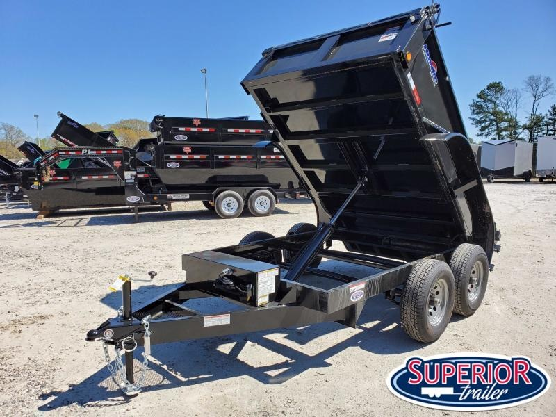 2021 Hawke 6X10 10K Dump w/ Tarp