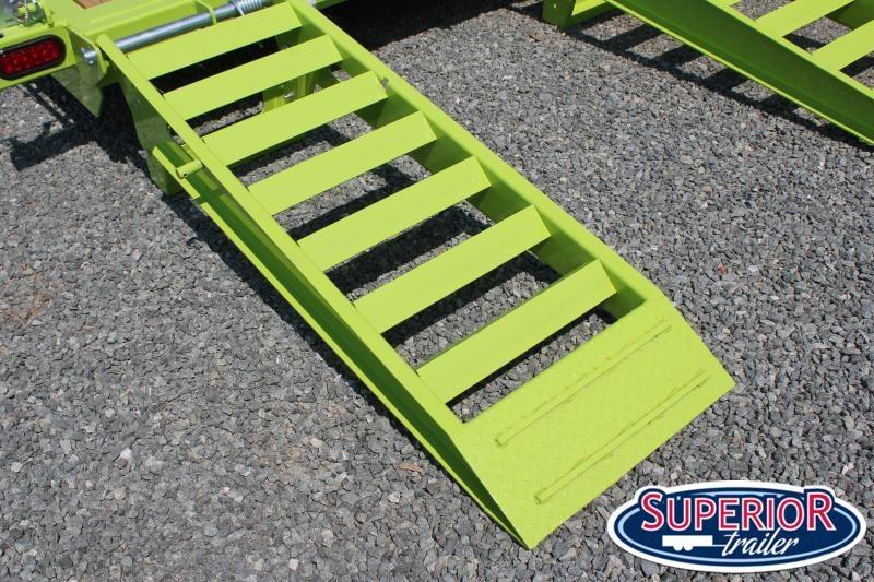 2020 Midsota ST-22 16K  Equipment Trailer w/ HD Fold Up Ramps