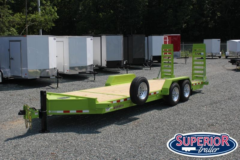 2020 Midsota ST-22 16K  Equipment Trailer w/ HD Fold Up Ramps