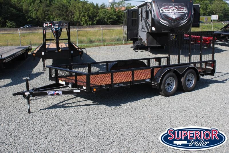 2021 Texas Bragg Trailers 16P Expanded Sides and Gate
