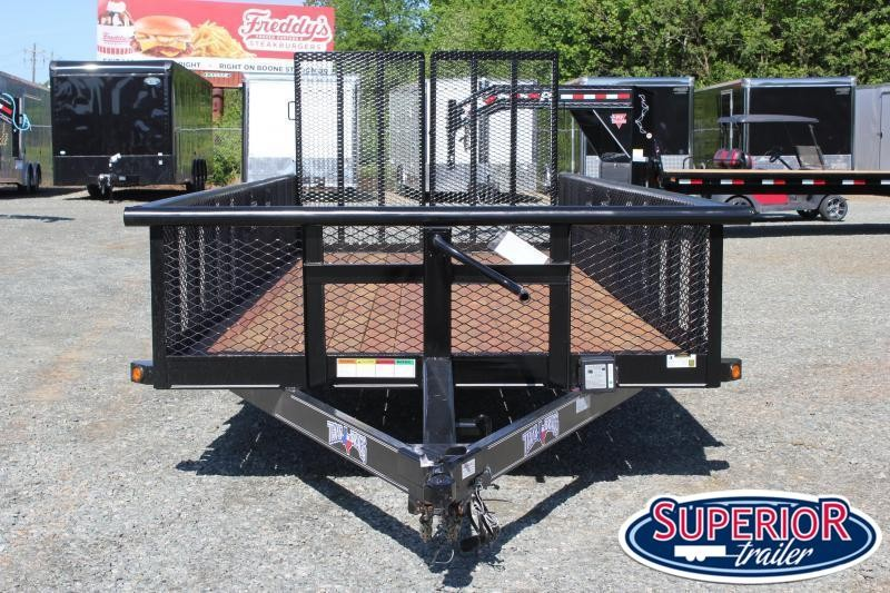 2021 Texas Bragg 20BP 10K w/ 2' Expanded Sides and Split Gate