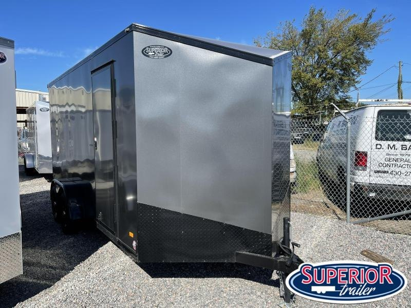 """2022 Bravo Scout 7x16 w/ 12"""" Extra Height and Ramp"""