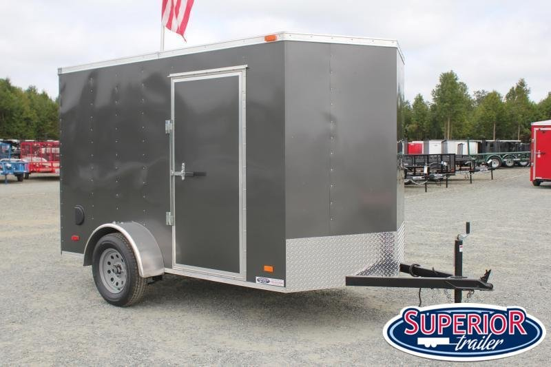 2021 Bravo Hero 6x10 w/ Ramp Door