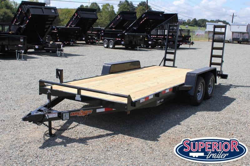 2020 Down 2 Earth 18ft 7K w/ Fold Up Ramps