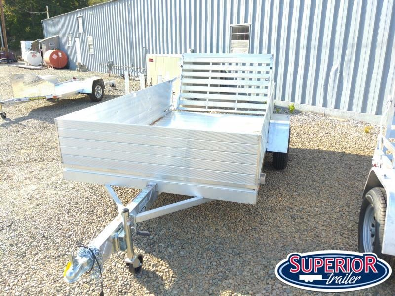 """2022 Aluma 7210H w/ 24"""" Solid Sides and Tailgate"""