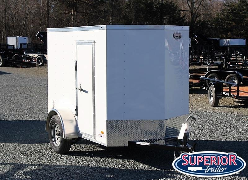 2021 Bravo Hero 5x8 w/ Extra Height & Ramp Door