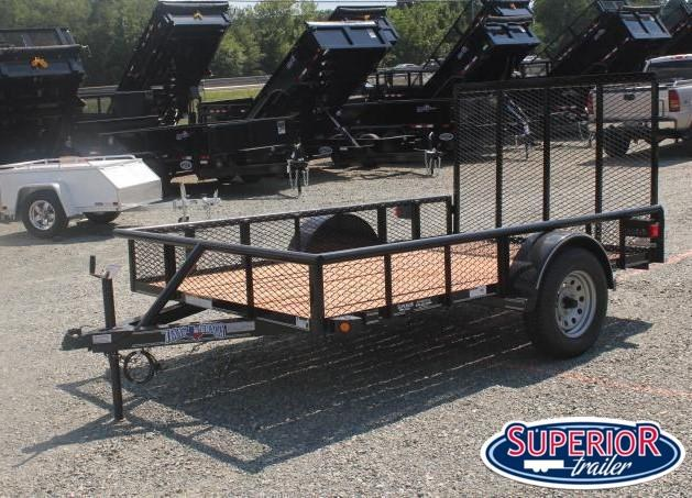 2021 Texas Bragg 6x10P w/ Expanded Sides and Gate