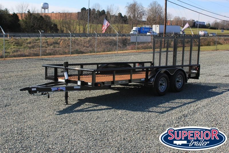 2020 Texas Bragg Trailers 16P w/ Expanded Sides and HD Split Gate