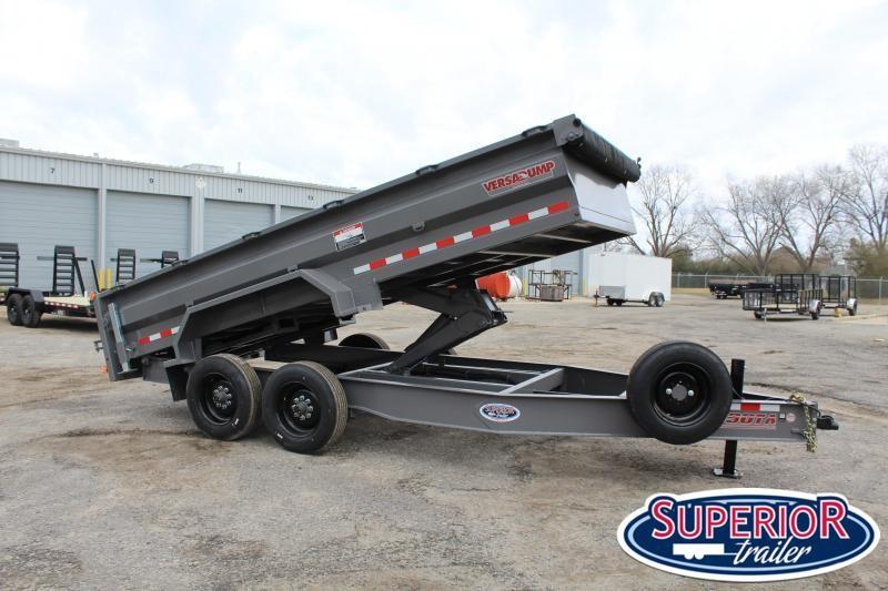 2021 Midsota HV-16 7x16 16K Tandem Axle Dump Trailer