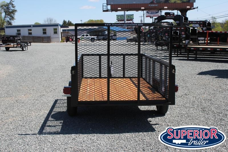 2021 Texas Bragg 5X10LB w/ 2ft Expanded Sides and Gate
