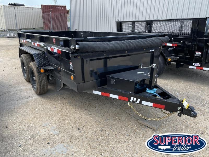 2022 PJ Trailers 6x12 D3 10K Dump w/ Ramps and Tarp