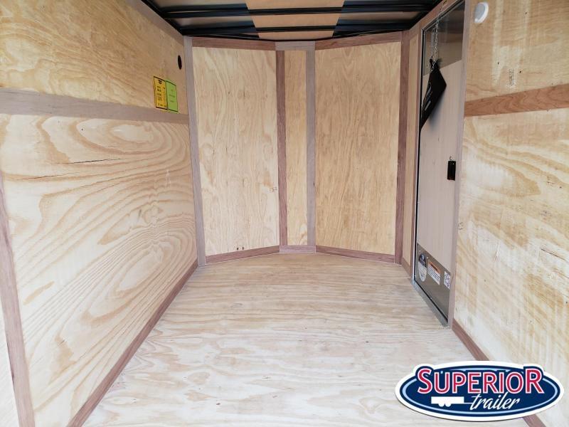 2022 Continental Cargo 7X16 w/ Double Rear Doors