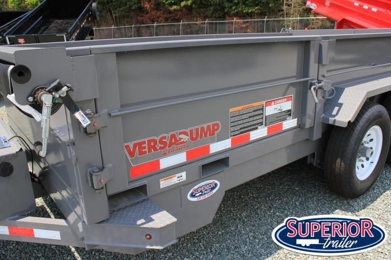 2021 Midsota HV-14 7x14 Tandem Axle Dump Trailer