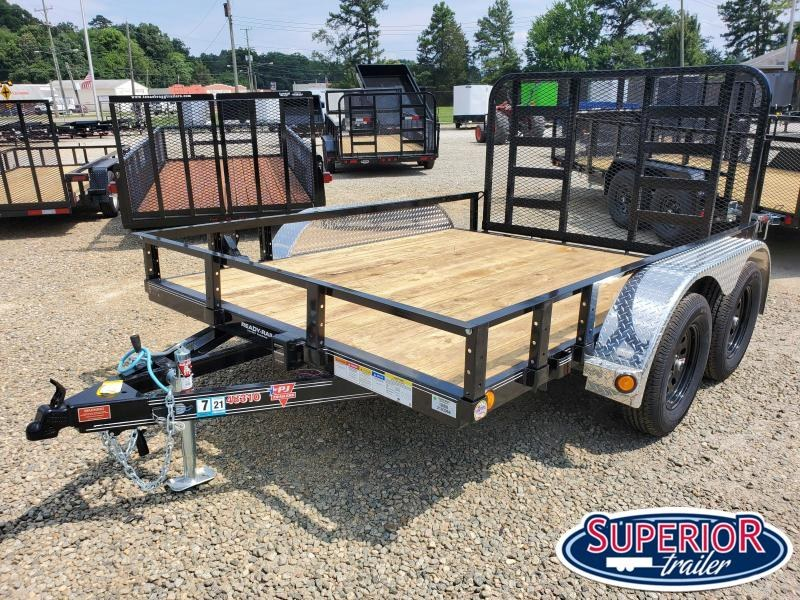 2020 PJ Trailers 10ft UL 7K Utility Trailer w/ HD Fold Up Gate