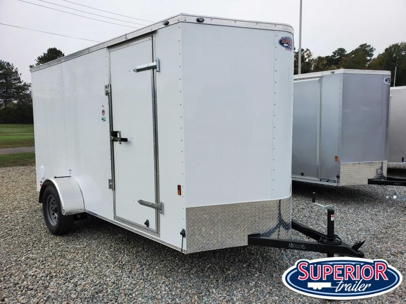 2021 Continental Cargo 6X12 w/ Double Rear Door