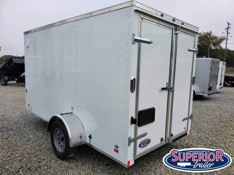 2021 Continental Cargo 6X12 w/ Double Rear Door
