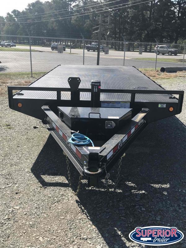 2021 PJ Trailers 18 F8 14K Deckover w Slide in Ramps