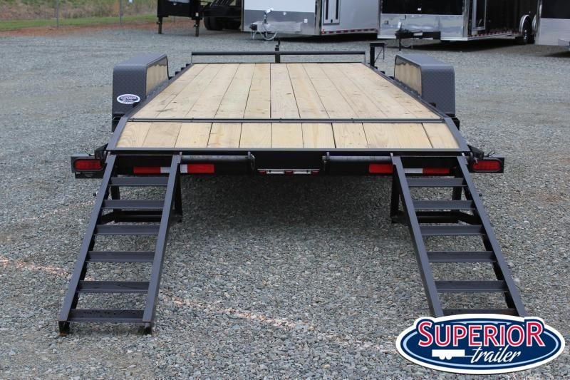 2021 Down 2 Earth 20ft 10K w/ Fold Up Ramps