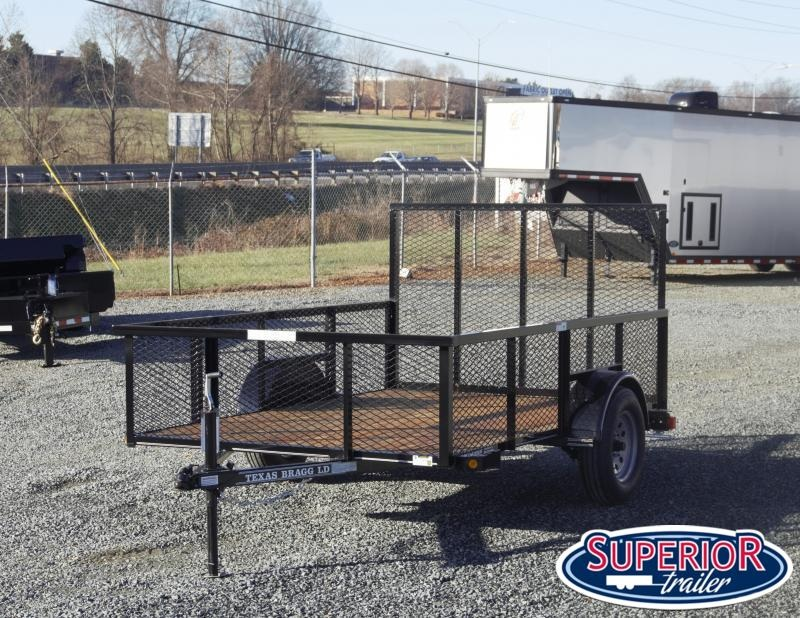 2021 Texas Bragg 6x10LD w/ 2ft Expanded Sides And Gate