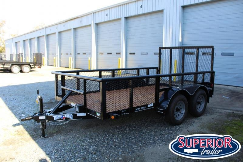 2020 Texas Bragg Trailers 12P 2ft Expanded Sides Utility Trailer