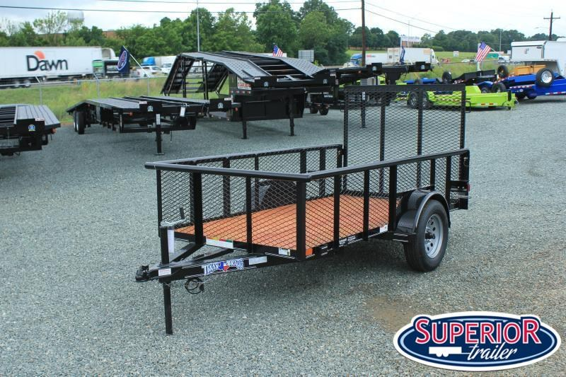 2021 Texas Bragg 5x10P 2ft Expanded Sides w/ Gate