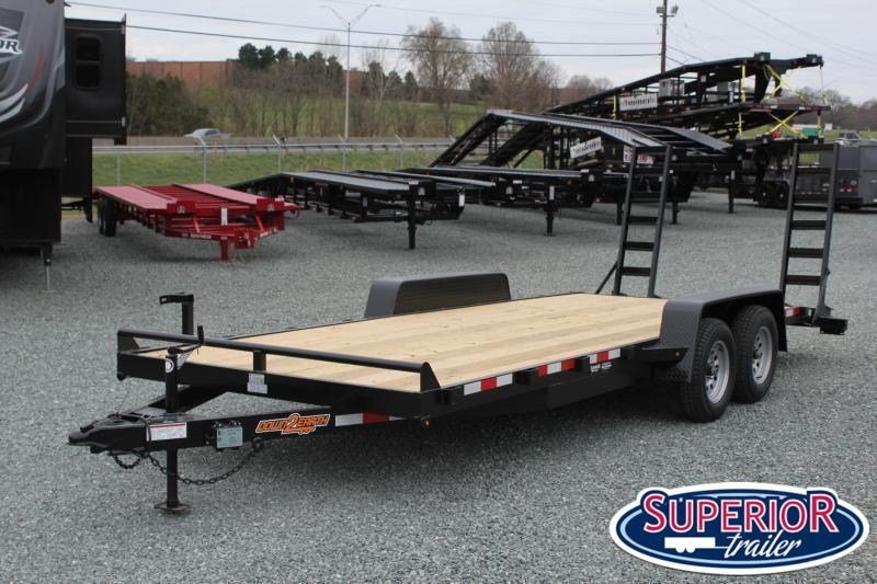 2021 Down 2 Earth 20ft 7K w/ Fold Up Ramps