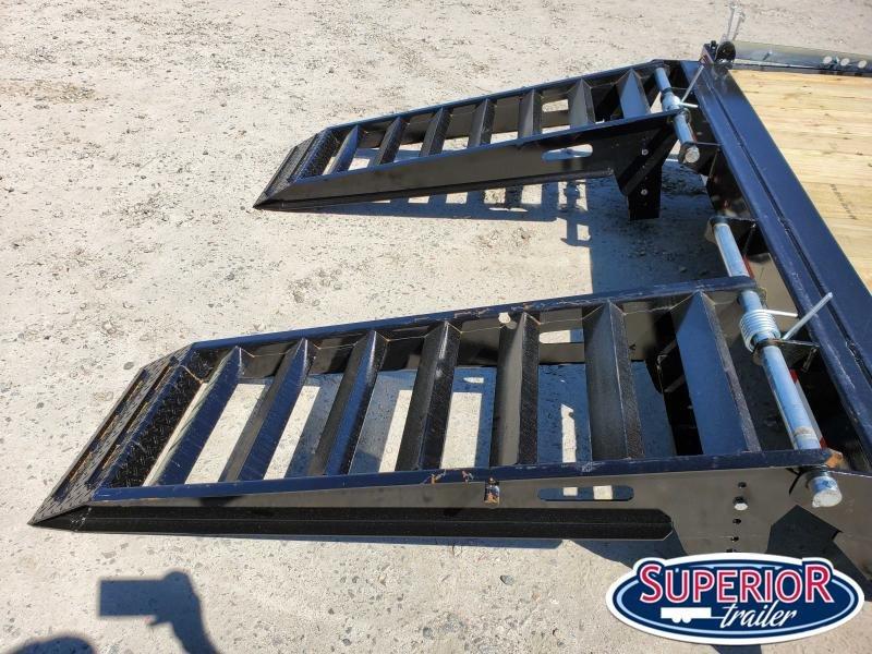 2020 Midsota ST-18 Equipment Trailer w/ Fold up Ramps
