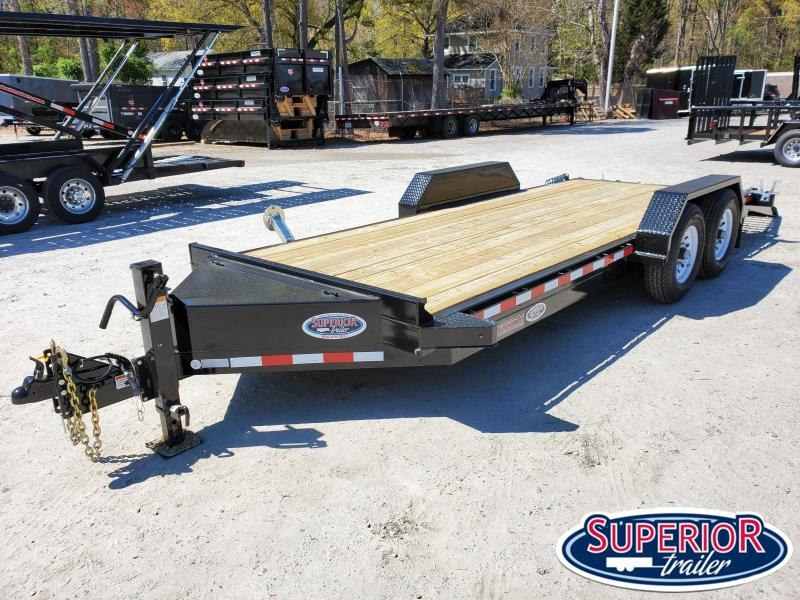 2020 Midsota ST-18 Equipment Trailer w/ Fold up Ramps