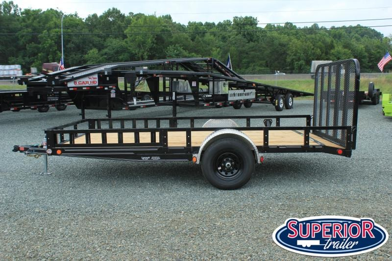 2021 PJ 7x14 5K U8 w/ Side Ramps and Gate