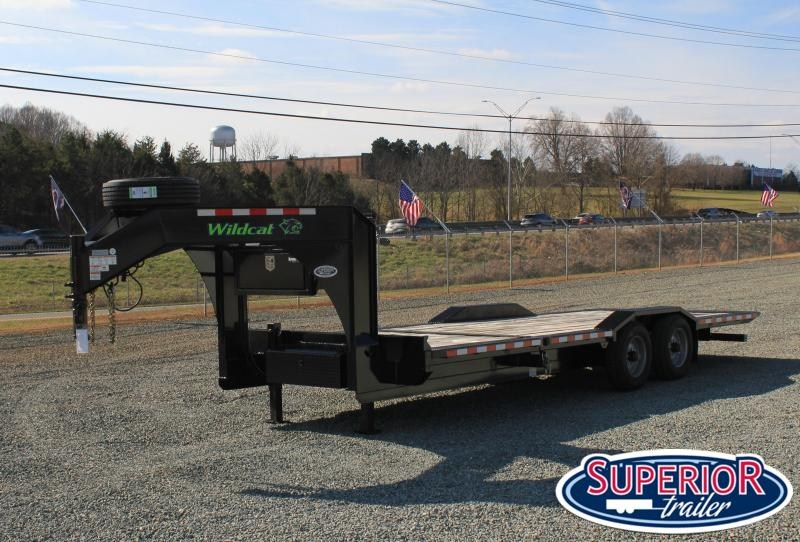 2021 DEMO Midsota TBWB-24 Gooseneck Tilt Bed Trailer