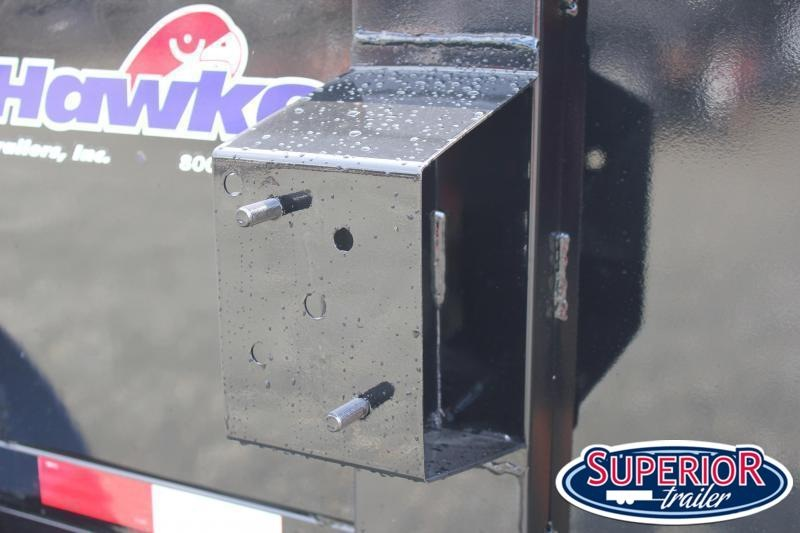 2021 Hawke 6X12 10K Dump