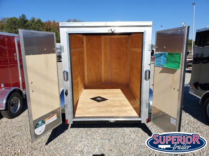 2021 Continental Cargo 5X8 w/Double Rear Doors