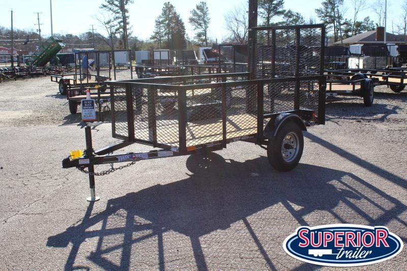 2020 Texas Bragg 4X8LB w/ 2ft Expanded Sides and Gate