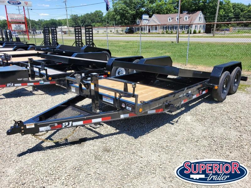 2021 PJ Trailers 20ft T6 14K Tilt