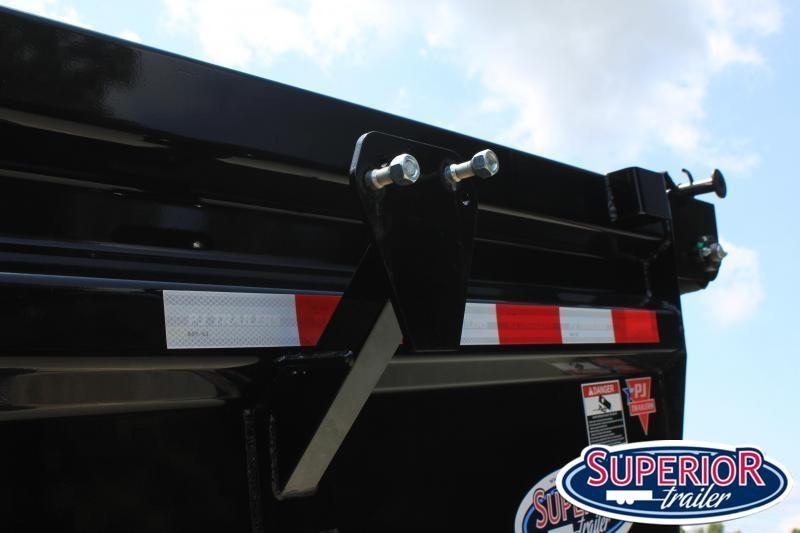 2022 PJ Trailers 7X14 DL 14K Dump Trailer w/ Monster Jack