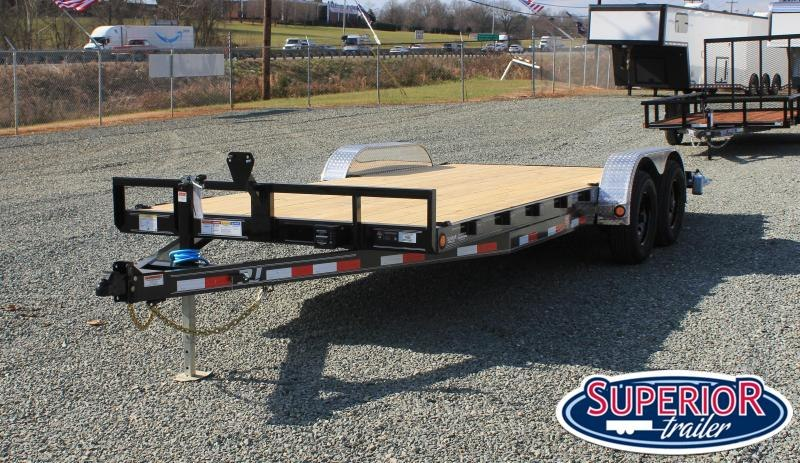 2021 PJ Trailers 20 CE 10K w/ Slide In Ramps