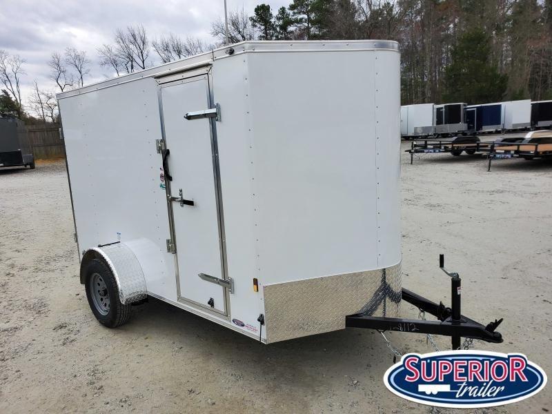 2021 Continental Cargo 6x10 Special w/ Double Rear Door