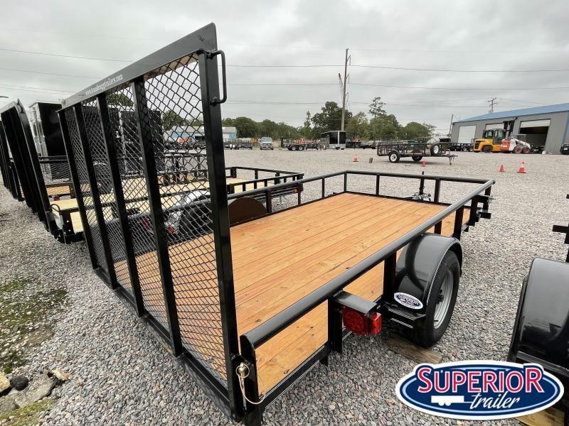 2021 Texas Bragg 6X12P w/ Gate