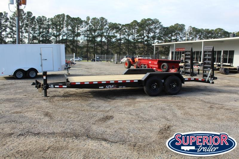 2021 Midsota NOVA ET8218 Equipment Trailer