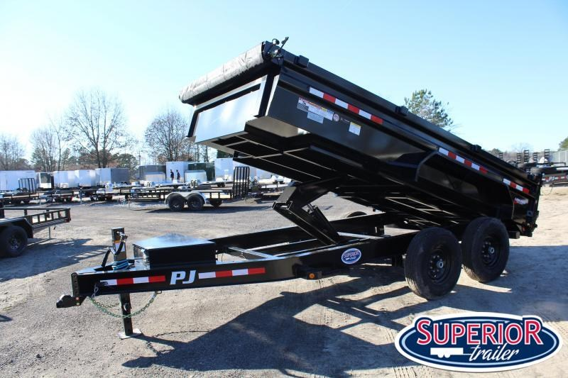 2020 PJ Trailers 7X14 DL 14K Dump Trailer