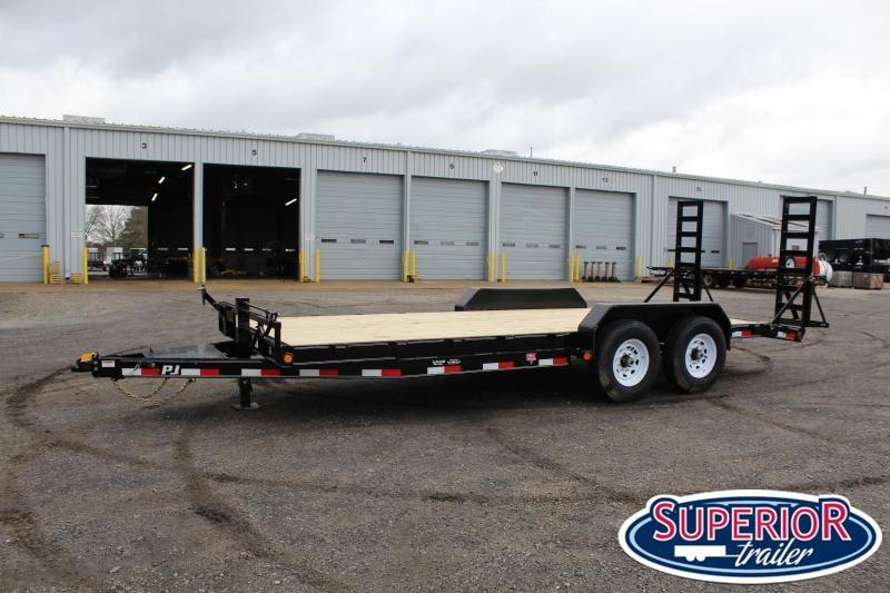 2020 PJ 20ft CC 14K w/ Fold Up Ramps