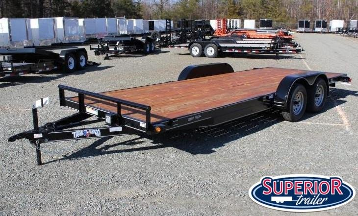 2021 Texas Bragg 20 HCH Car Trailer w/ Ramps