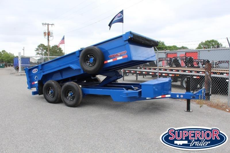 2020 Midsota HV-14 7x14 14K Tandem Axle Dump Trailer
