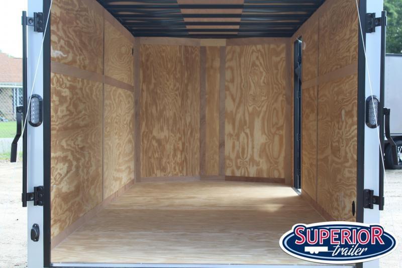 2021 Continental Cargo 7X16 Blk Out w/ Ramp Door