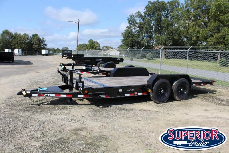2021 PJ Trailers 18ft T6 14K Tilt