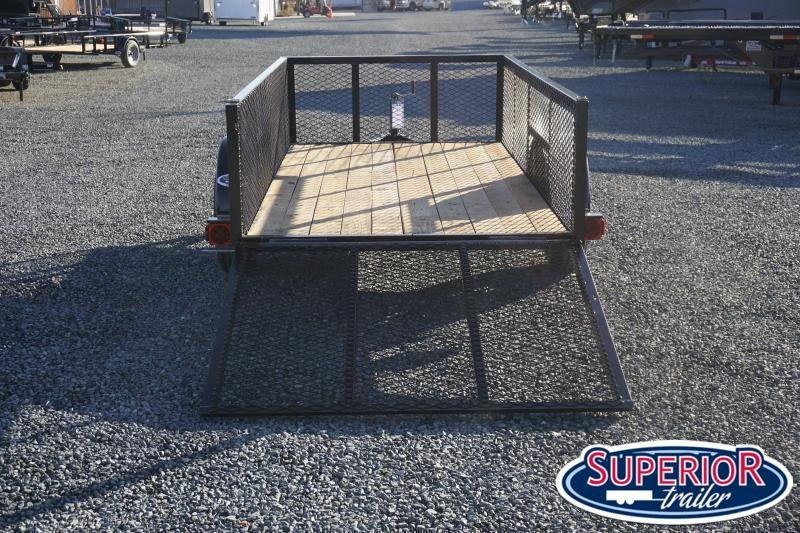2021 Texas Bragg 5x10LD w/ 2ft Expanded Sides & Gate