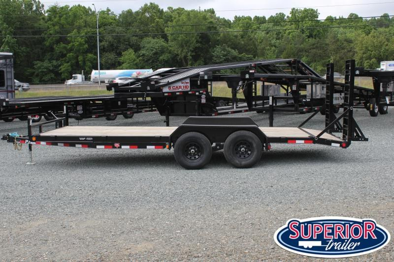 2020 PJ Trailers 20' CE 10K w/ Fold Up Ramps