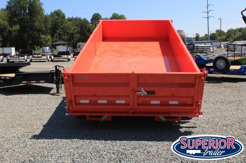 2022 Midsota HV-14 7x14 Tandem Axle Dump Trailer