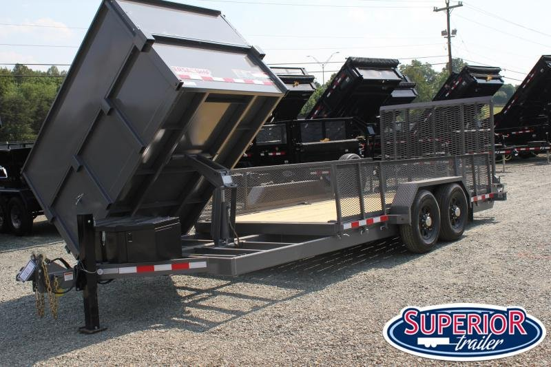 2019 Midsota 20ft 14K Equipment Side Dump Combo